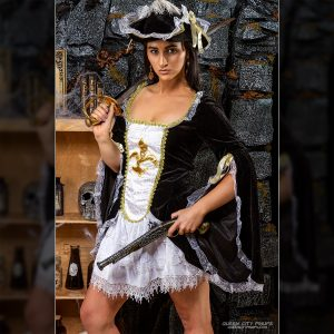 Sexy Musketeer at Queen City Pinups 2017 Halloween Spooktacular